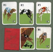 Collectible Vintage cards game greyhound racing